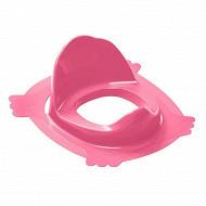 Réducteur de wc rose