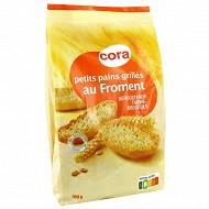 Cora petit pain grillés au froment 400g