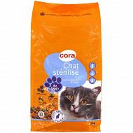 Cora croquettes chats stérilisés lapin/légumes sac 2 kg