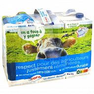 Cora lait filière demi-écrémé brique 6x1l