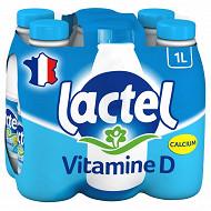 Lactel lait demi-écrémé vitamine D 6x1l