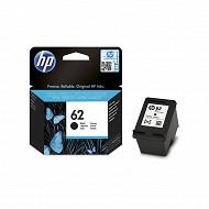 HP Cartouche d'encre 62 Noire