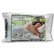 Ventéo oreiller à mémoire de forme miracle bambou