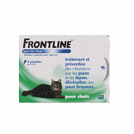 Frontline chat spot on 4 pipettes de 0.5ml blisters