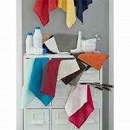 Lot de 3 serviettes 44x44cm blanc