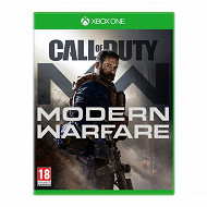 Jeu xbox one call of duty modern warfare 16