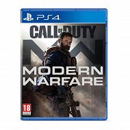Jeu ps4 call of duty modern warfare 16