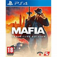 Jeu ps4 mafia : definitive edition