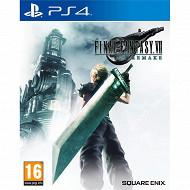 Jeu ps4 final fantasy VII