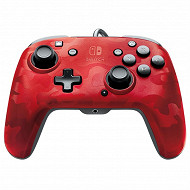 Pdp manette switch camo rouge