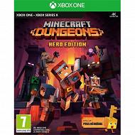 Jeu x box one minecraft dungeons hero