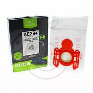 Home Equipement sac synthétique pour aspirateur X4 HEAE28+