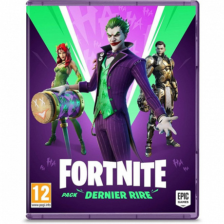 Jeu switch  fortnite pack dernier rire