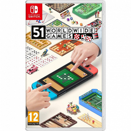 Jeu switch 51 worldwide games