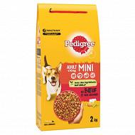 Pedigree mini croquettes petits chiens au boeuf et aux légumes sac 2kg