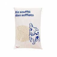 Riz soufflé pour chien 1kg