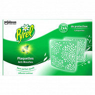 Pyrel plaquettes mouches (2 plaquettes)