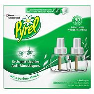 Pyrel électrique recharge liquide 90 nuits (2 recharges 45 nuits)