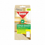 Baygon piège mites alimentaires x 3