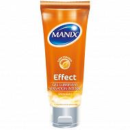 Manix gel lubrifiant Effect tube 80ml