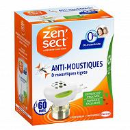 Zensect diffuseur electrique 60 nuits 0% insecticides