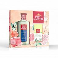 Mont St Michel naturelle classique coffret eau de Cologne et savon