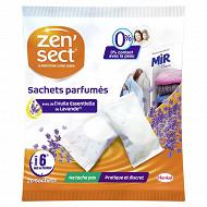 Zensect anti-mites textiles - parfum lavande sachets x 20