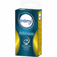 Preservatifs performance x14 Intimy