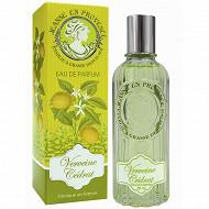 Jeanne en Provence eau de parfum verveine cédrat 60ml