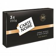 Carte Noire café moulu 3x250g