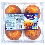 Cora muffins au gout vanille et aux pepites de chocolat 300g