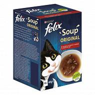 Felix soupe sélection de la campagne 6x48g