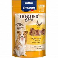 Vitakraft treaties bits poulet bacon pour chien
