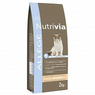 Nutrivia croquette chat allégé 2kg