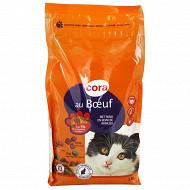 Cora croquettes chat boeuf légumes verts fourrés 2 kg