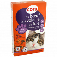Cora croquettes chat boeuf adulte 400g