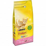 Friskies chat junior dinde légumes 2 kg