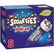 Nestlé smarties pop'up 5x52g - 425 ml - 260g