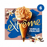 Extrême vanille praliné x6 720ml  426g
