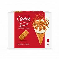 Lotus cones spéculos - 4x115ml - 288g