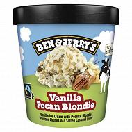 Ben & Jerry's dessert glacé vanilla pécan 465ml - 414g