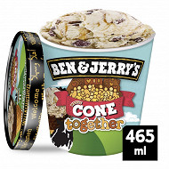 Ben & Jerry's dessert glace cône together 465ml - 391g