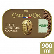 Carte d'Or glace café  900ml - 481g