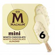 Magnum mini white x 6 55ml - 267g