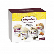 Haagen dazs mini pot vanilla collection 4X95ML - 321g