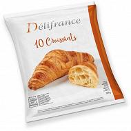 Delifrance 10 croissants au beurre 550g