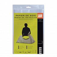 100 Feuilles papier de soie - protection des objets fragiles