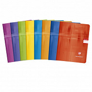 Clairefontaine cahier piqûre 17x22 cm 96 pages seyes 90 grammes