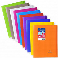 Clairefontaine cahier kover book 21x29.7 seyes translucide 90 grammes coloris assortis