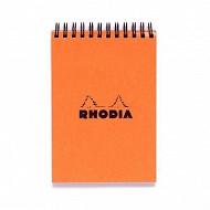 Rhodia bloc reliure intégrale 74x105 160 P 5X5 papier velin